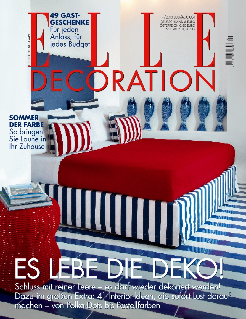 Elle Decoration, Germania - Giugno 2013