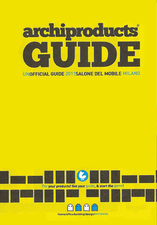 Archiproducts Guide, Italia - Aprile 2011